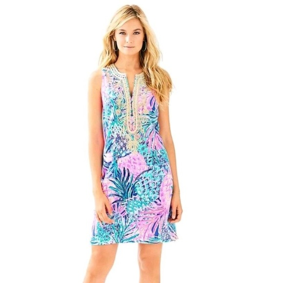 Lilly Pulitzer Dresses & Skirts - Lilly Pulitzer Carlotta Shift Gypset Paradise
